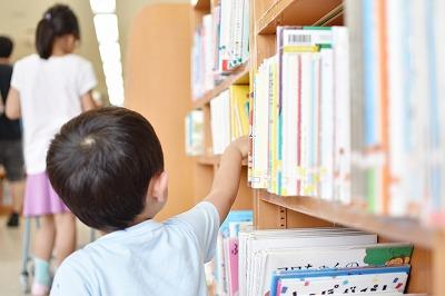 子供が読書