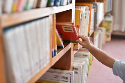 読書好きが図書館にて